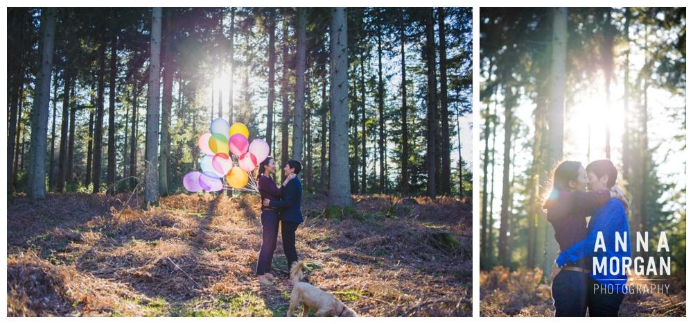 New Forest Wedding Shoot Liz & Heloise -1
