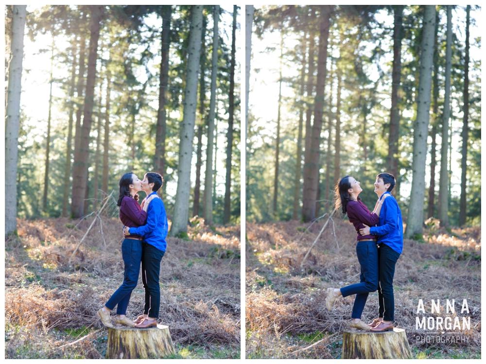 New Forest Wedding Shoot Liz & Heloise -10
