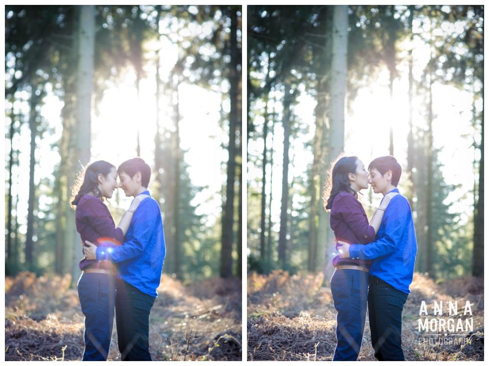 New Forest Wedding Shoot Liz & Heloise -4