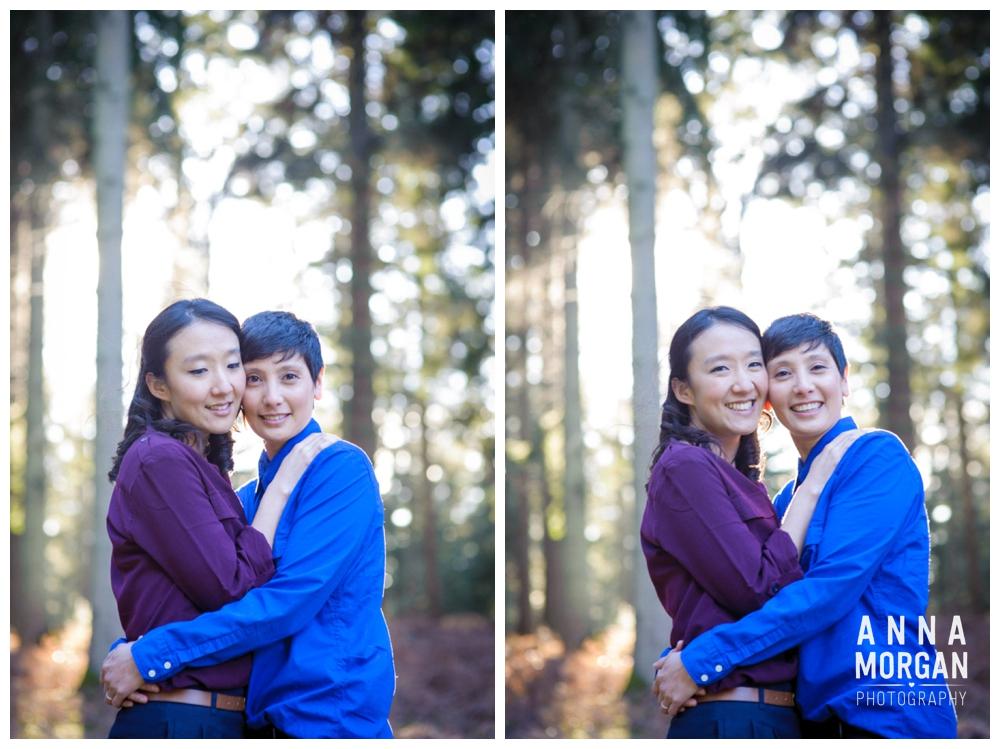 New Forest Wedding Shoot Liz & Heloise -8