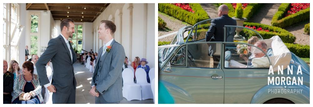 highcliffe castle & hengisbury head wedding -25