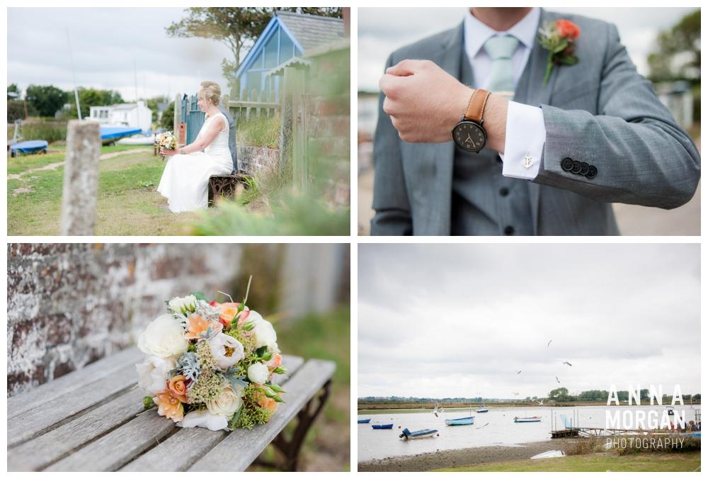 highcliffe castle & hengisbury head wedding -58