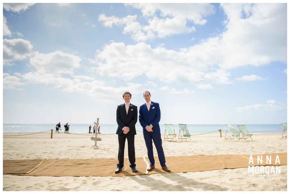 Aimee And Dans Jewish Bournemouth Beach Wedding