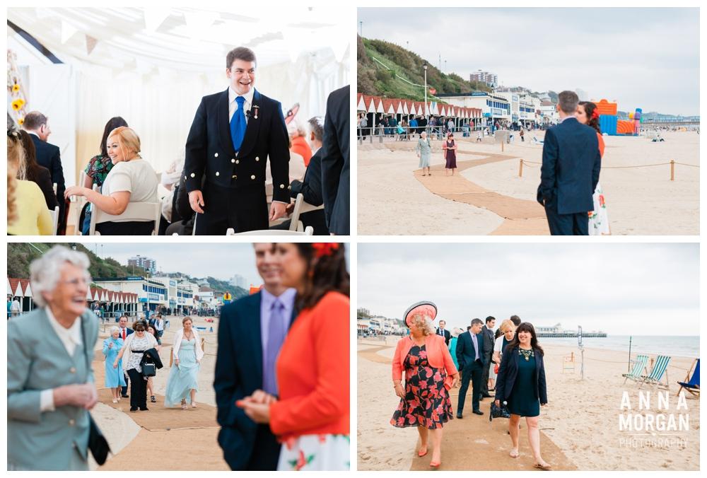 Anna Morgan Photography Chris & Megan Beach Weddings Bournemouth 035