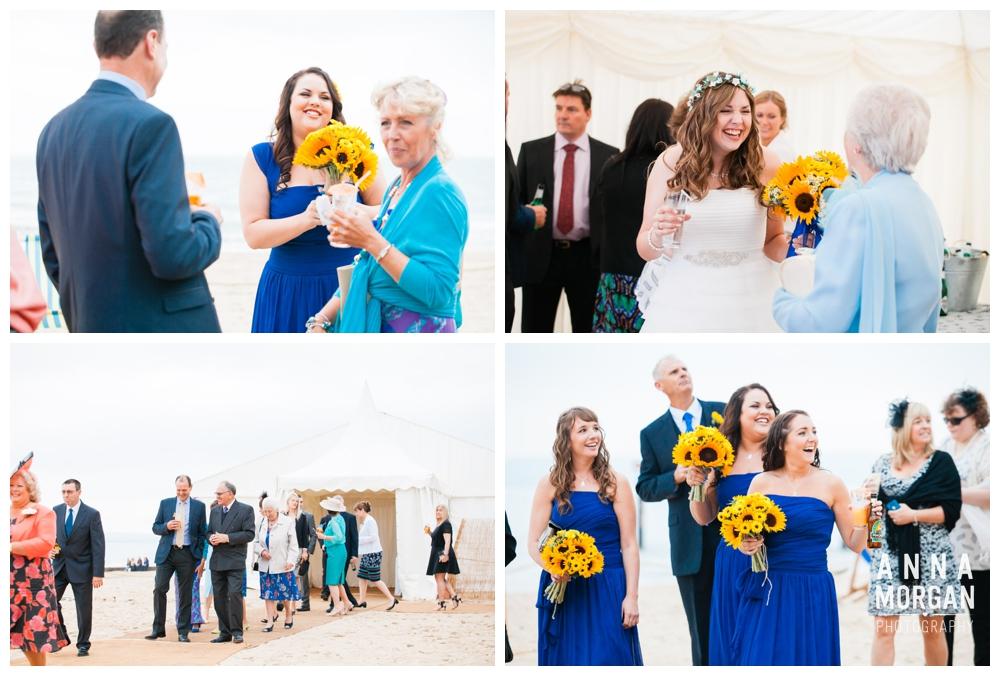 Anna Morgan Photography Chris & Megan Beach Weddings Bournemouth 086