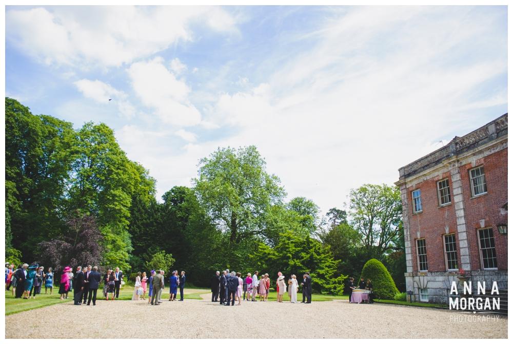 Wimborne Minster & Deans Court Wedding Anna Morgan Photography-30