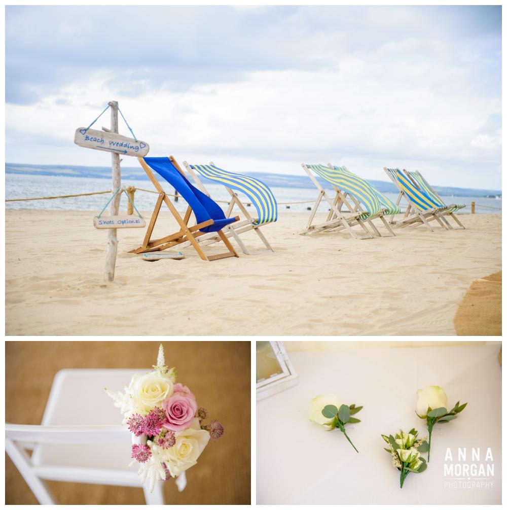 Beach weddings bournemouth Anna Morgan Photography-1