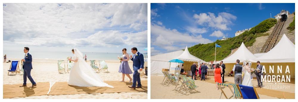 Beach weddings bournemouth Anna Morgan Photography-57