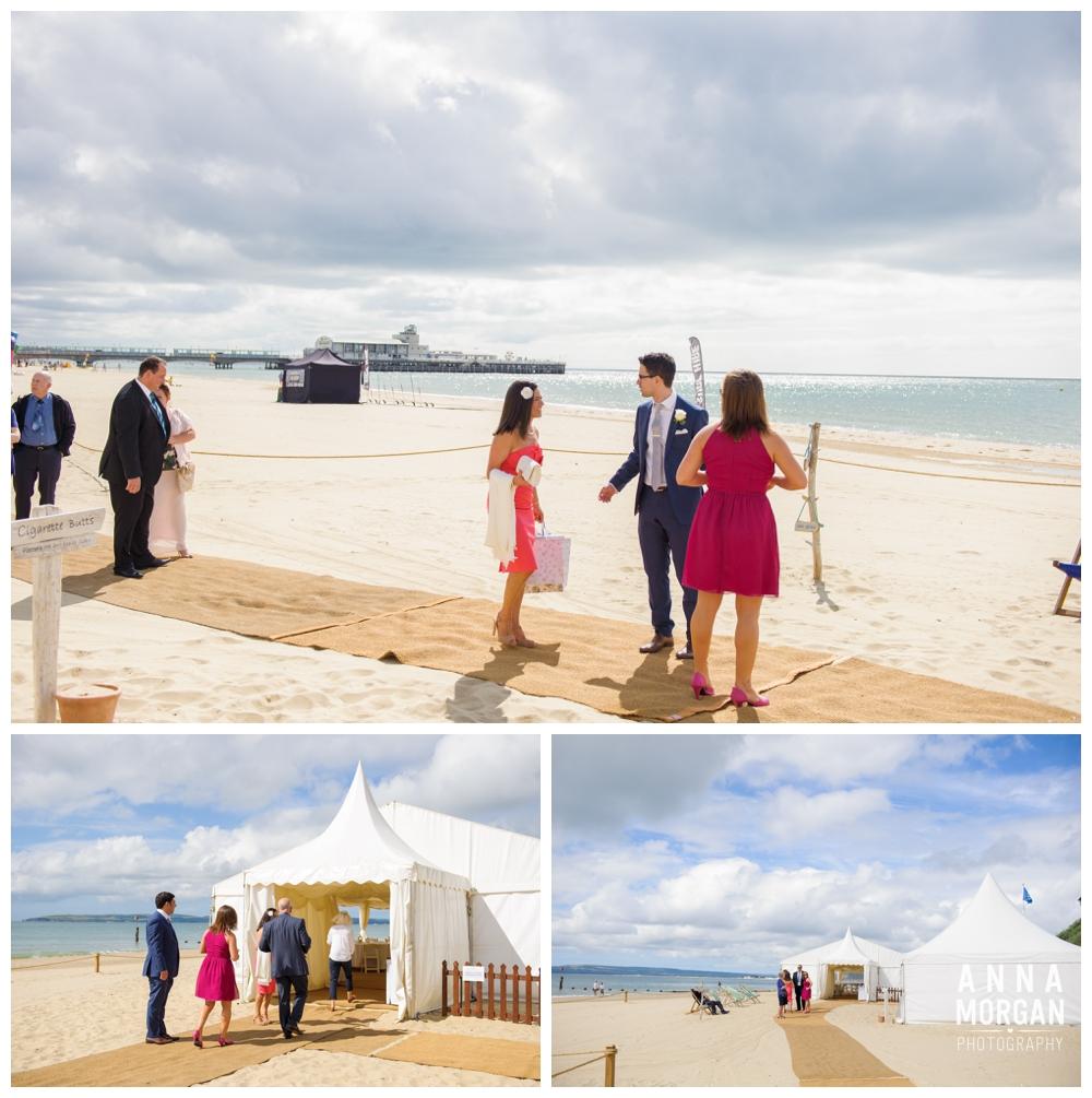 Beach weddings bournemouth Anna Morgan Photography-6