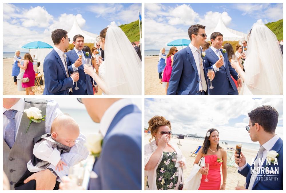 Beach weddings bournemouth Anna Morgan Photography-65