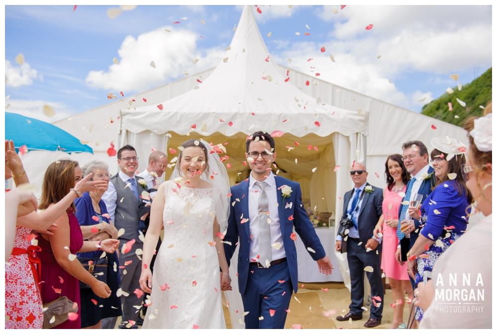Beach weddings bournemouth Anna Morgan Photography-71