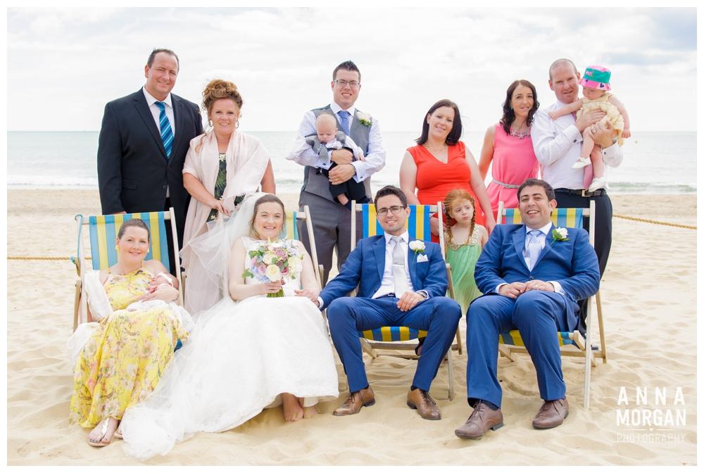 Beach weddings bournemouth Anna Morgan Photography-74