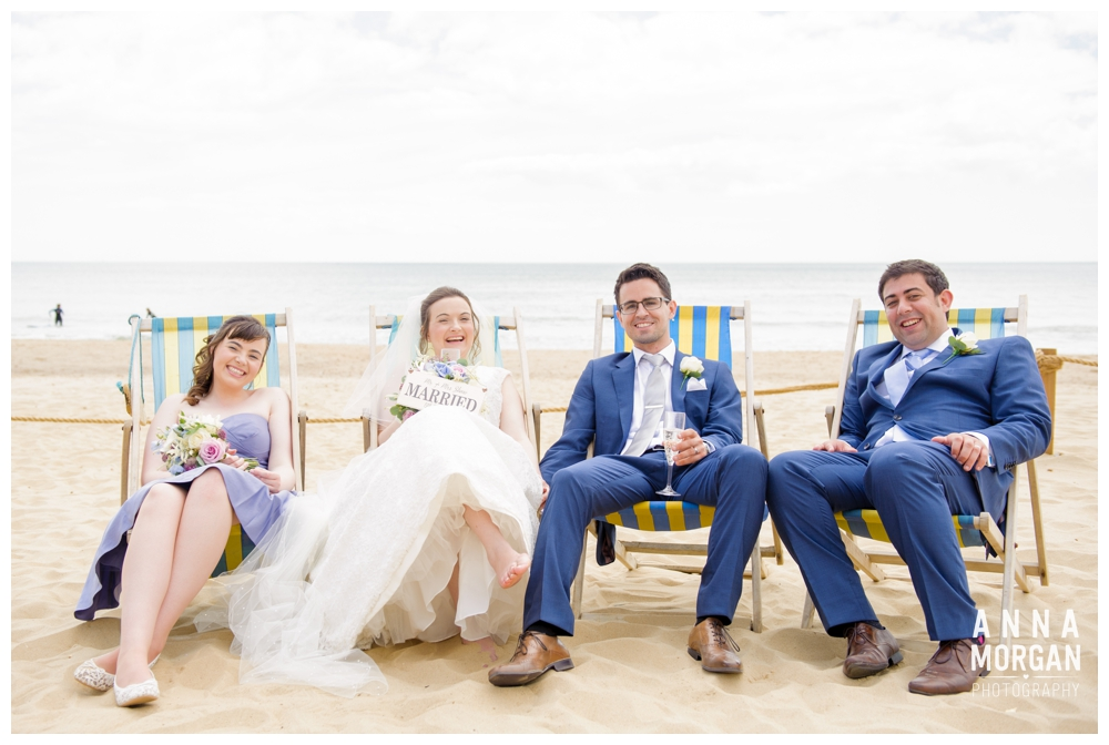 Beach weddings bournemouth Anna Morgan Photography-76