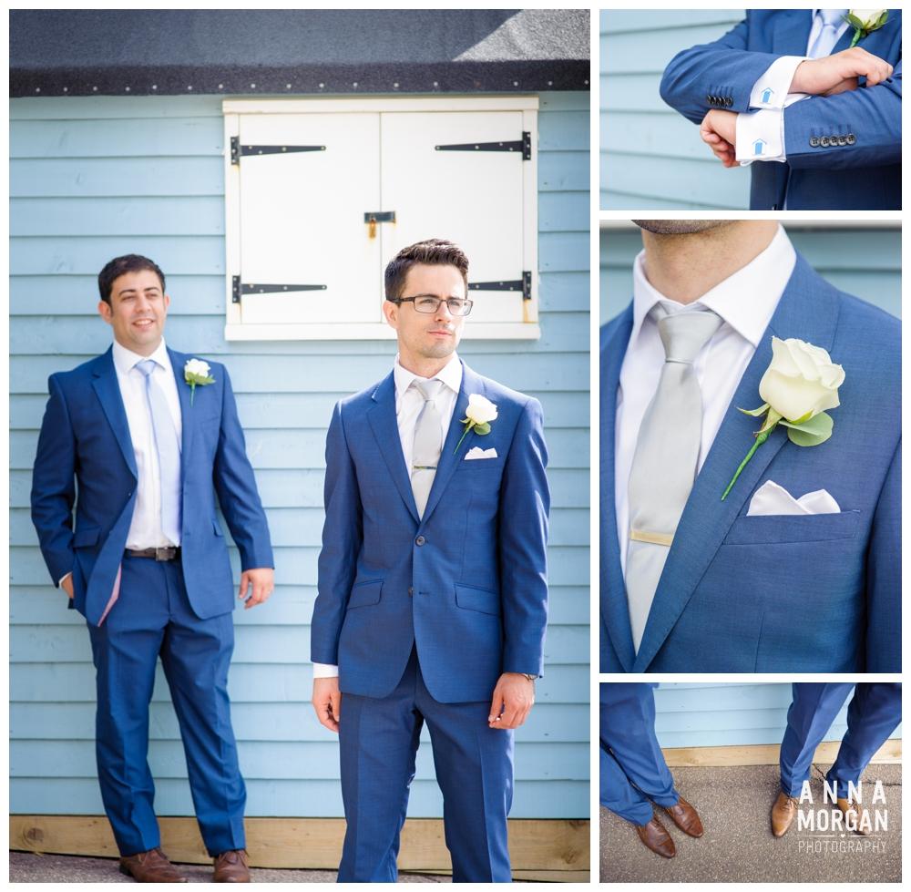 Beach weddings bournemouth Anna morgan photography-10