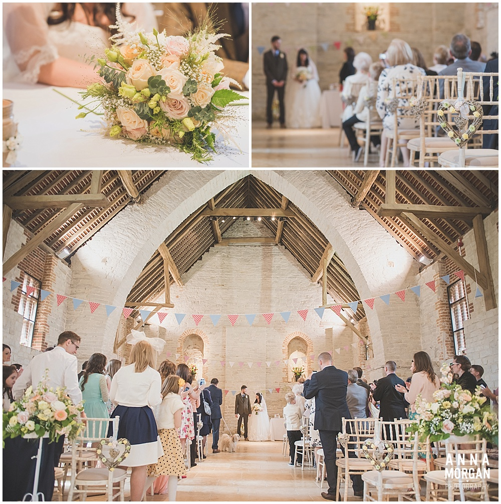 Tithe Barn Petersfield Hampshire Wedding_023