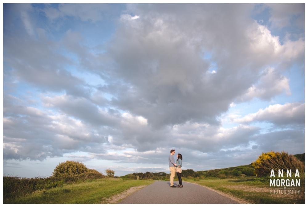 Jodie & Tom Hengistbury head pre wedding shoot-1
