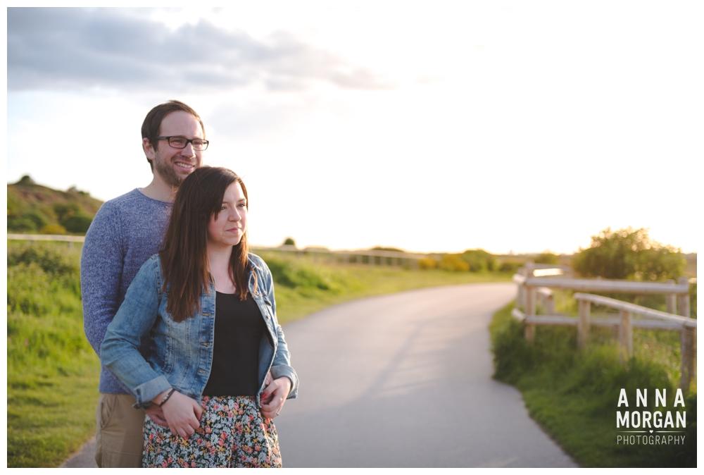 Jodie & Tom Hengistbury head pre wedding shoot-10