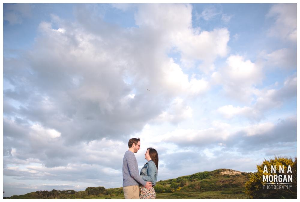 Jodie & Tom Hengistbury head pre wedding shoot-2