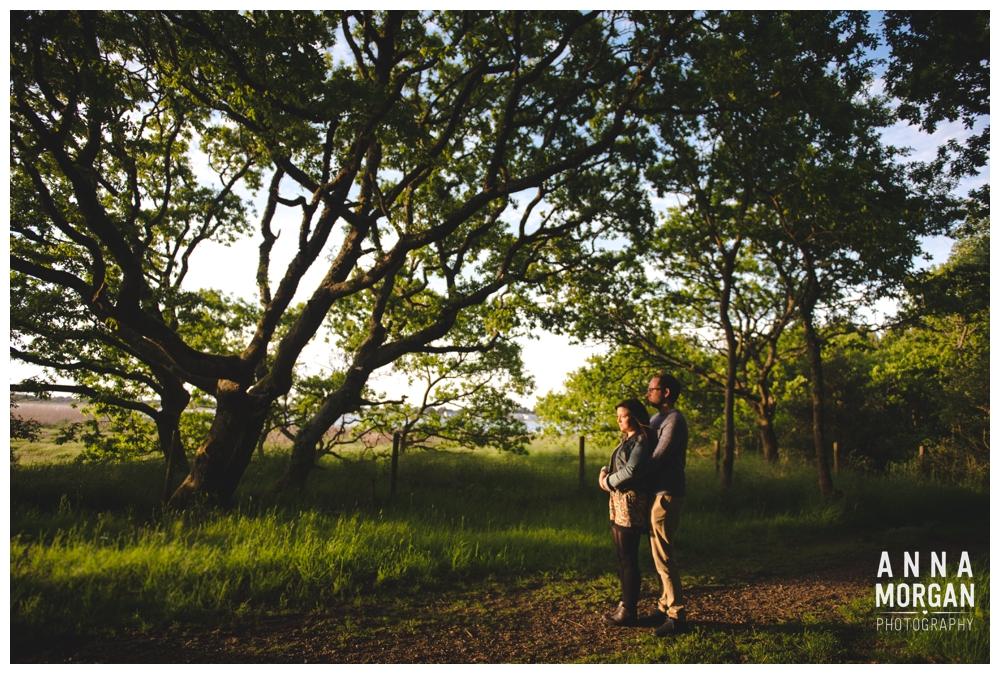 Jodie & Tom Hengistbury head pre wedding shoot-21