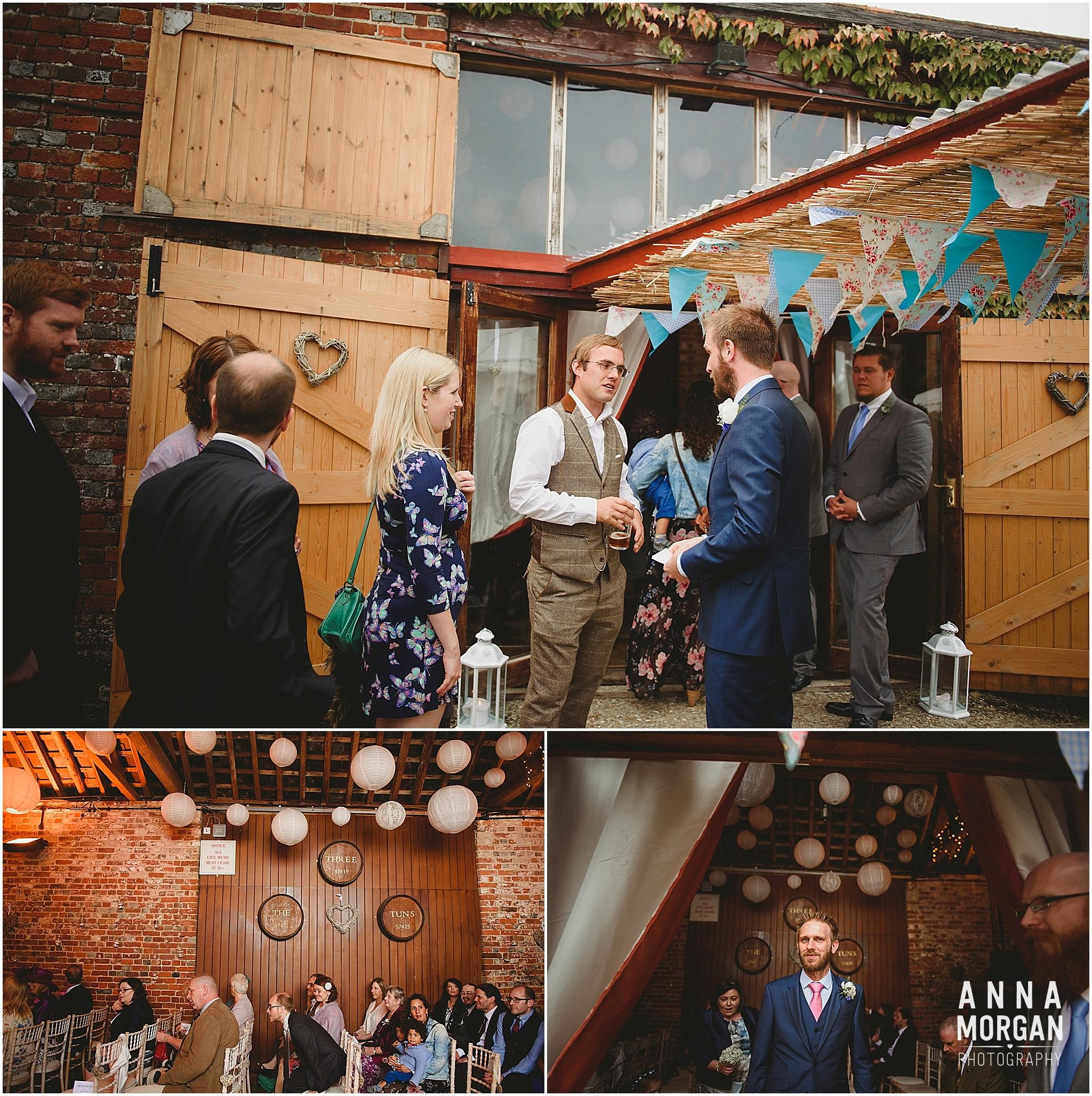 Amy & Marc Three Tunns Wedding Bransgore Dorset-15