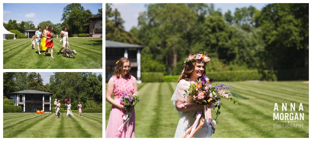 Hayley & Paul Larmer Tree Gardens Weddng Dorset-103
