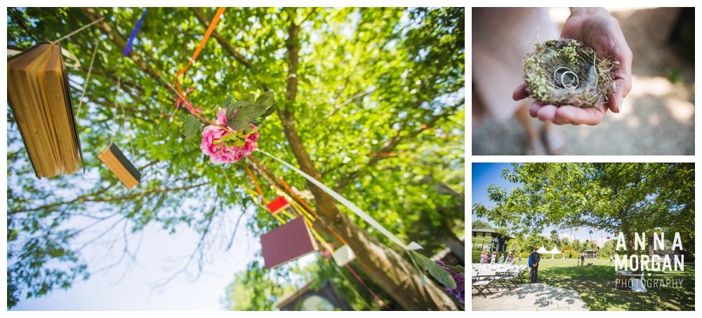 Hayley & Paul Larmer Tree Gardens Weddng Dorset-56