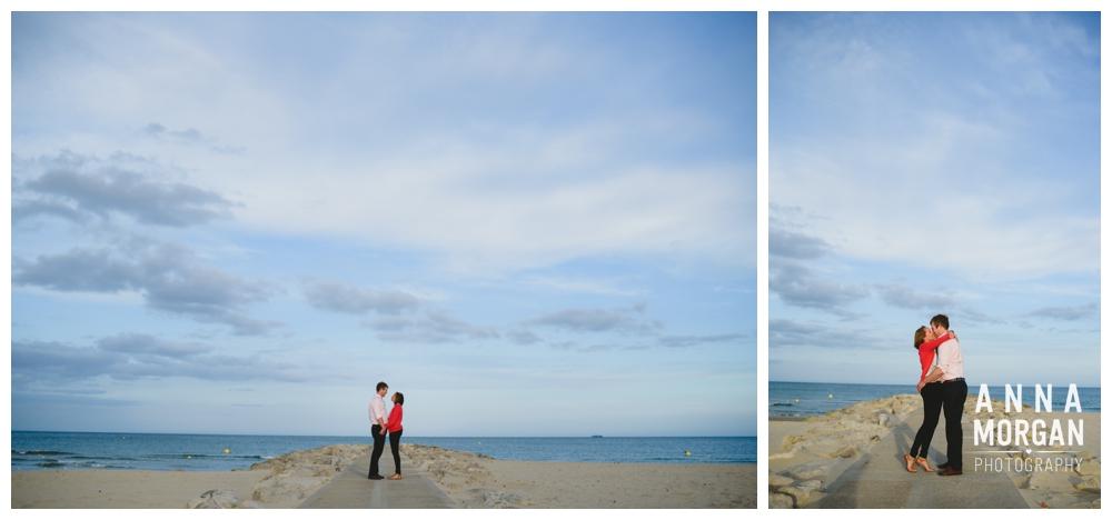 Sandbanks beach pre wedding Debbie & George-26