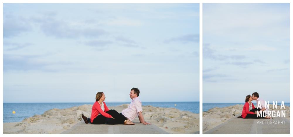 Sandbanks beach pre wedding Debbie & George-31