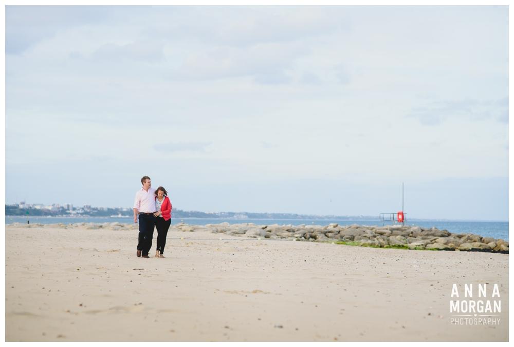 Sandbanks beach pre wedding Debbie & George-34