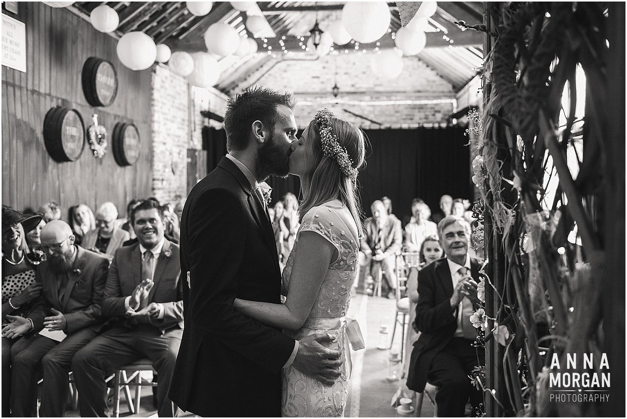 Amy & Marc Three Tunns Wedding Bransgore Dorset-36