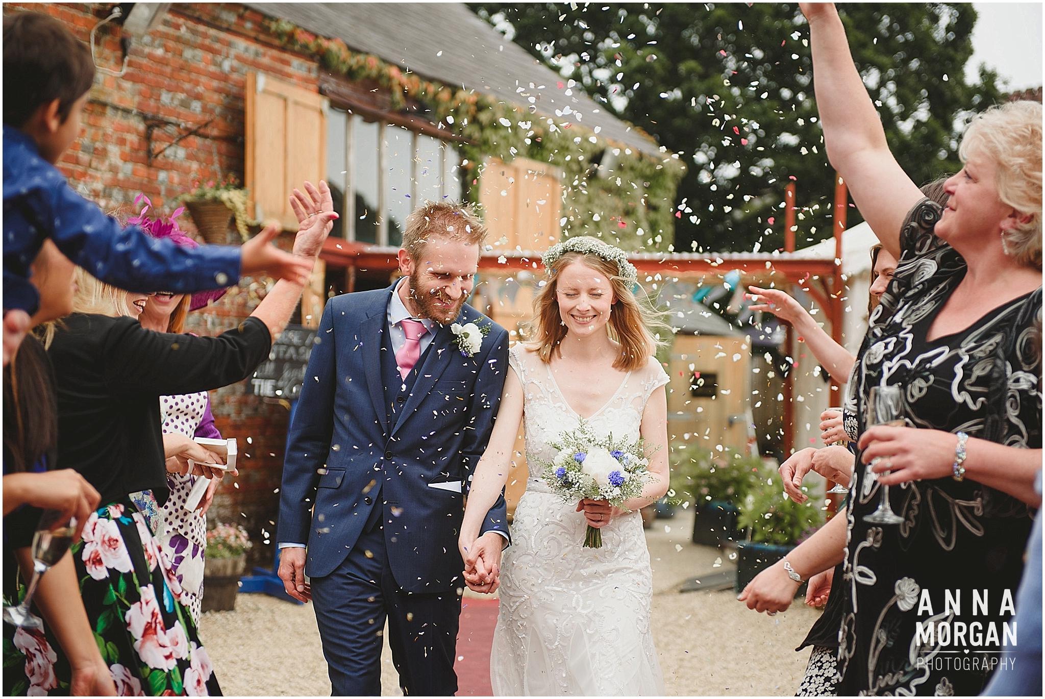 Amy & Marc Three Tunns Wedding Bransgore Dorset-51