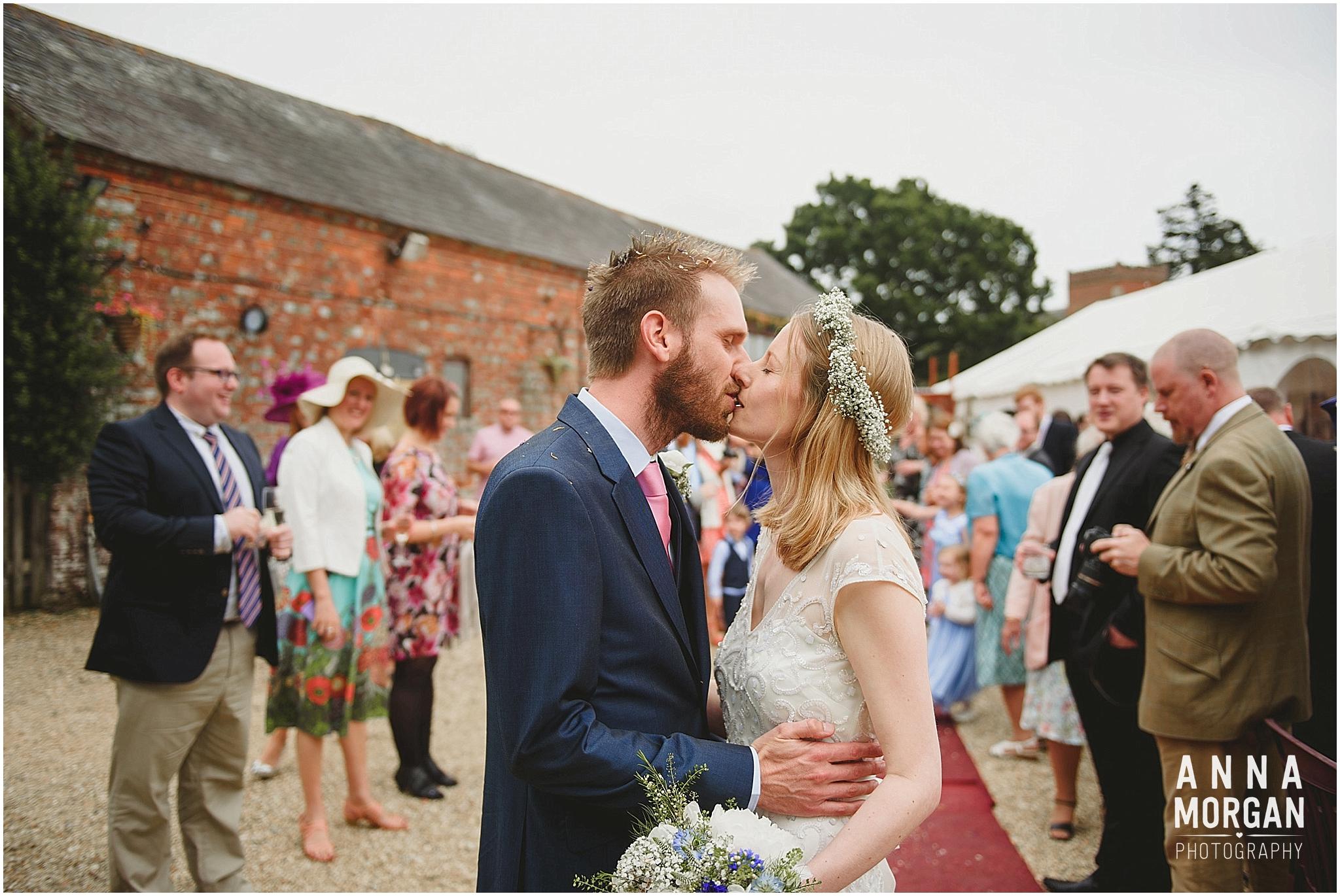 Amy & Marc Three Tunns Wedding Bransgore Dorset-54