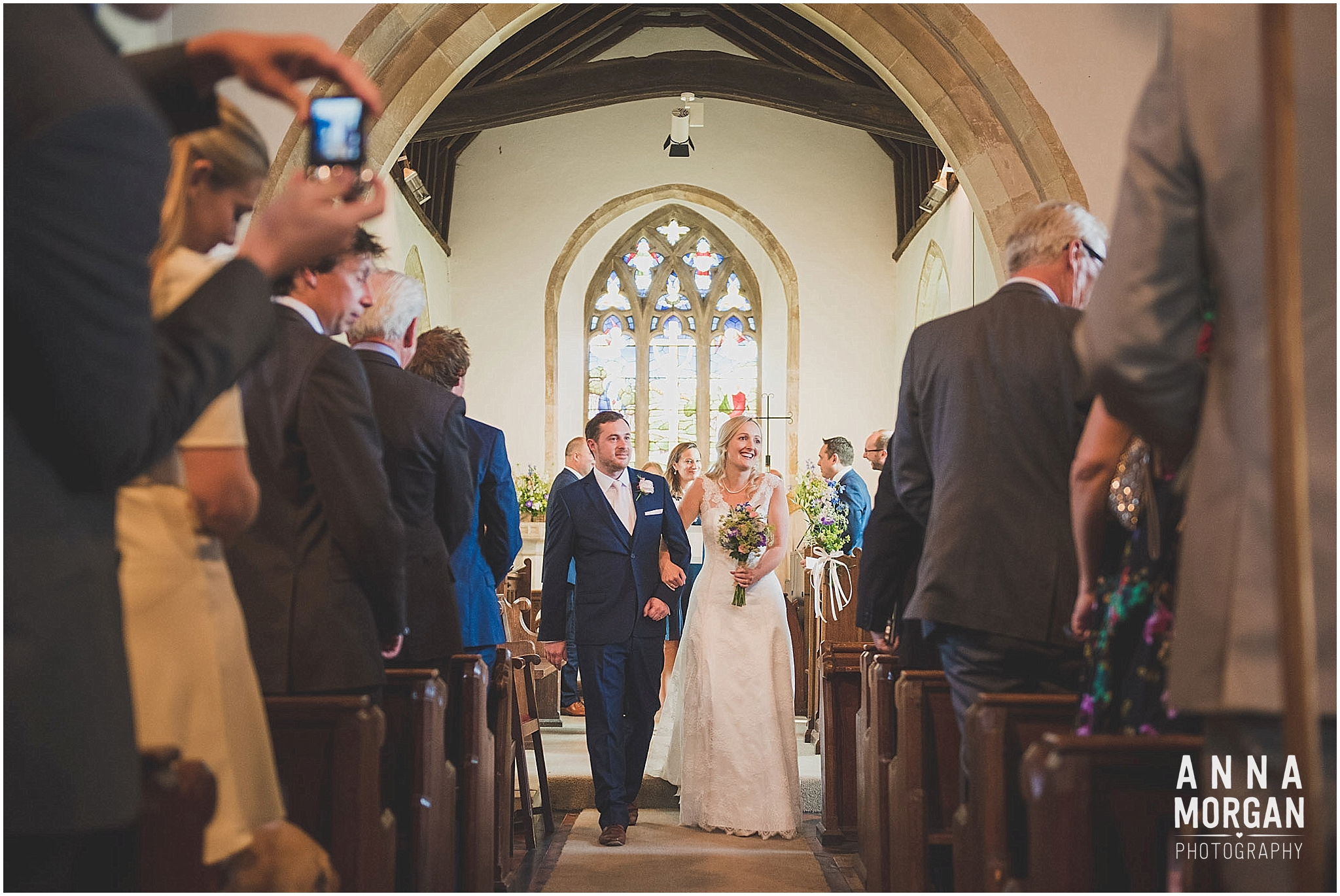 Horsebridge Station Wedding Becky & Freddie Anna Morgan Photography-15