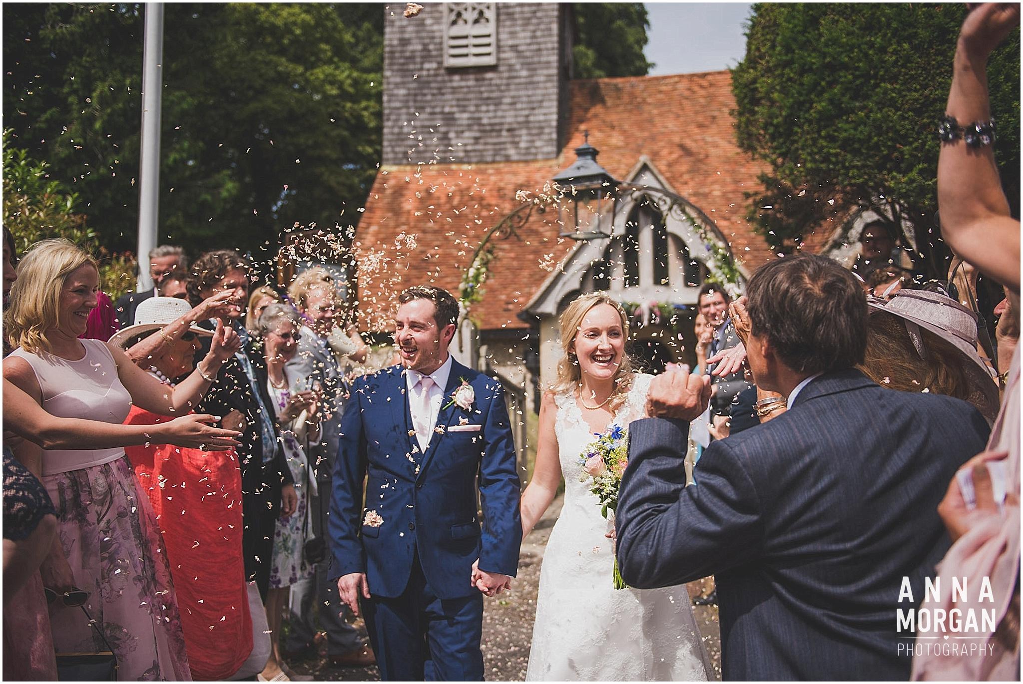 Horsebridge Station Wedding Becky & Freddie Anna Morgan Photography-16