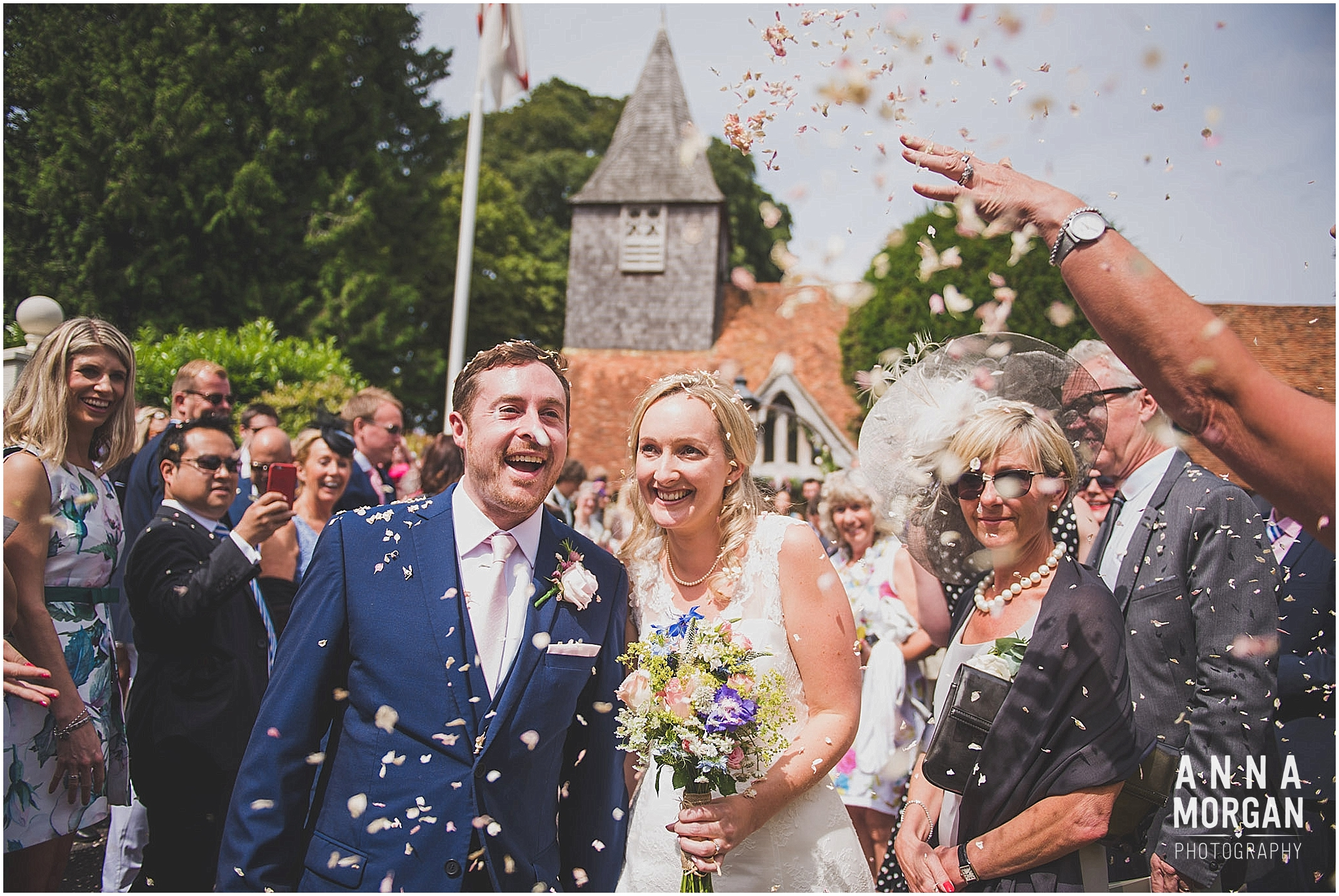 Horsebridge Station Wedding Becky & Freddie Anna Morgan Photography-19
