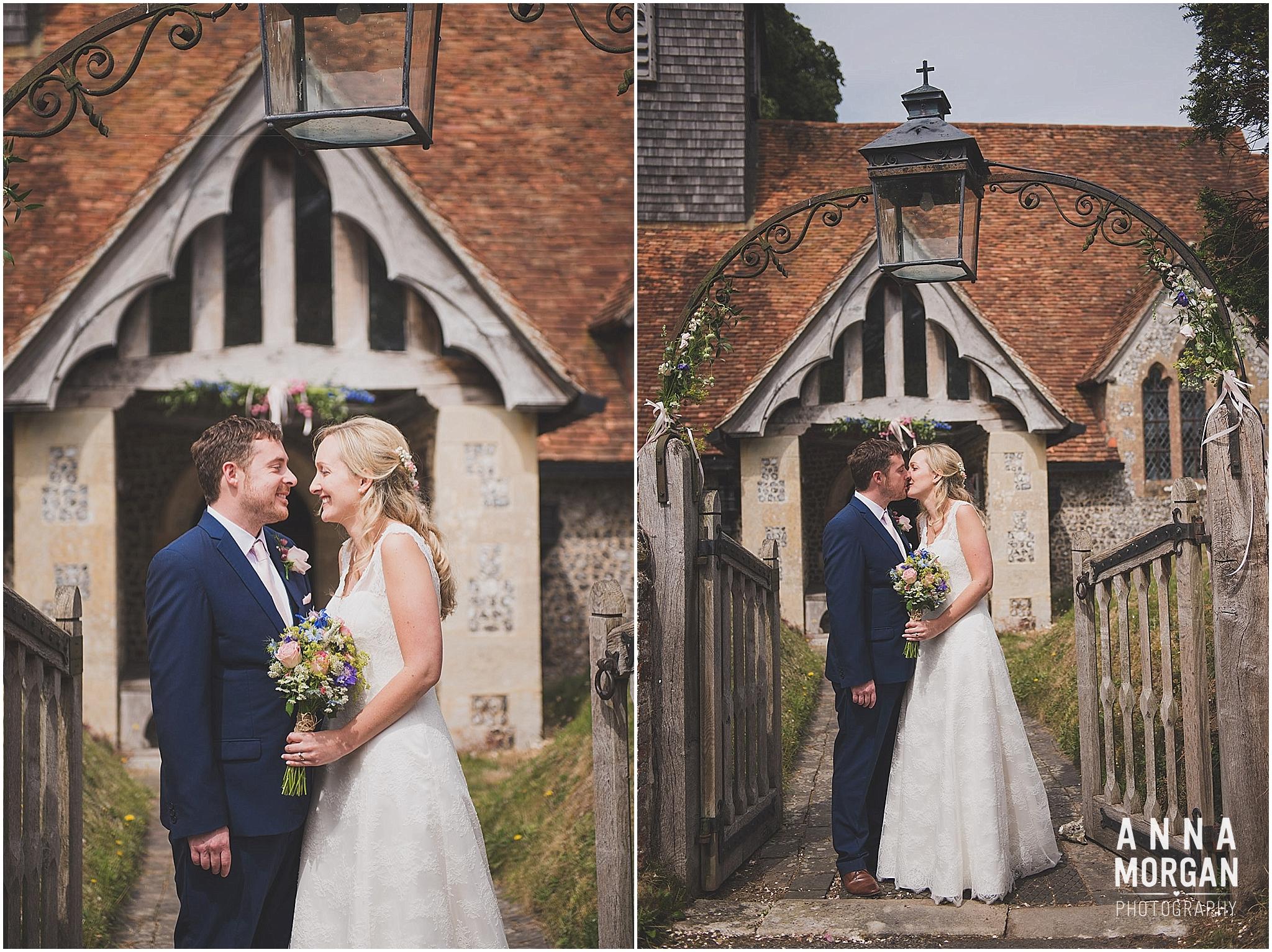 Horsebridge Station Wedding Becky & Freddie Anna Morgan Photography-22