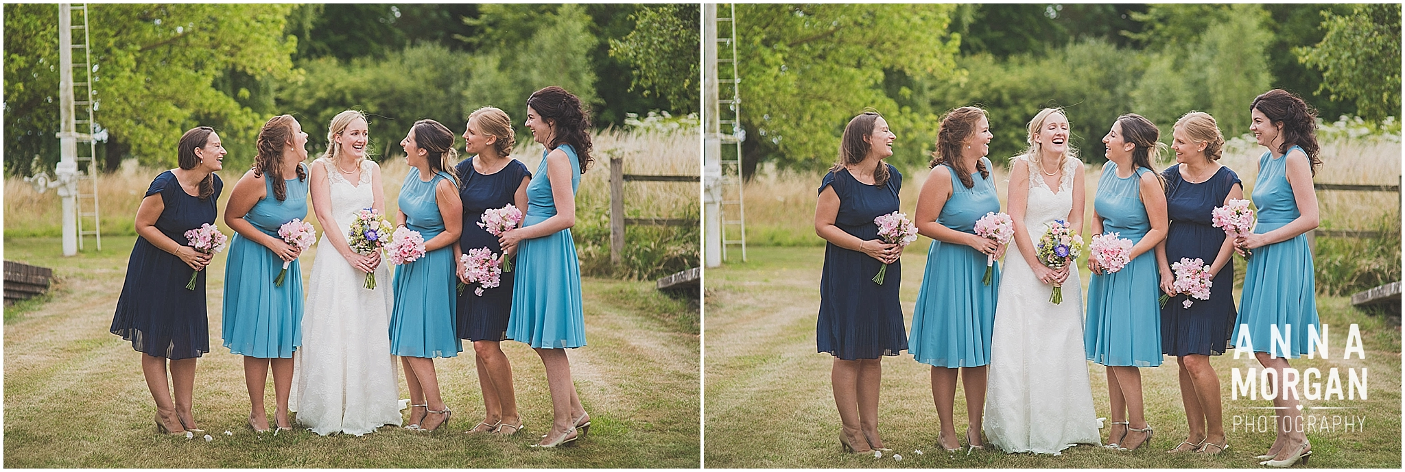 Horsebridge Station Wedding Becky & Freddie Anna Morgan Photography-24