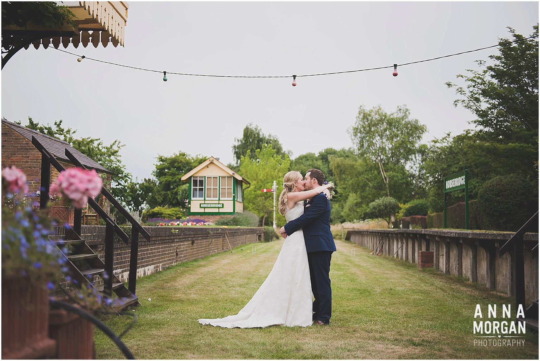 Horsebridge Victorian Railway Station Wedding