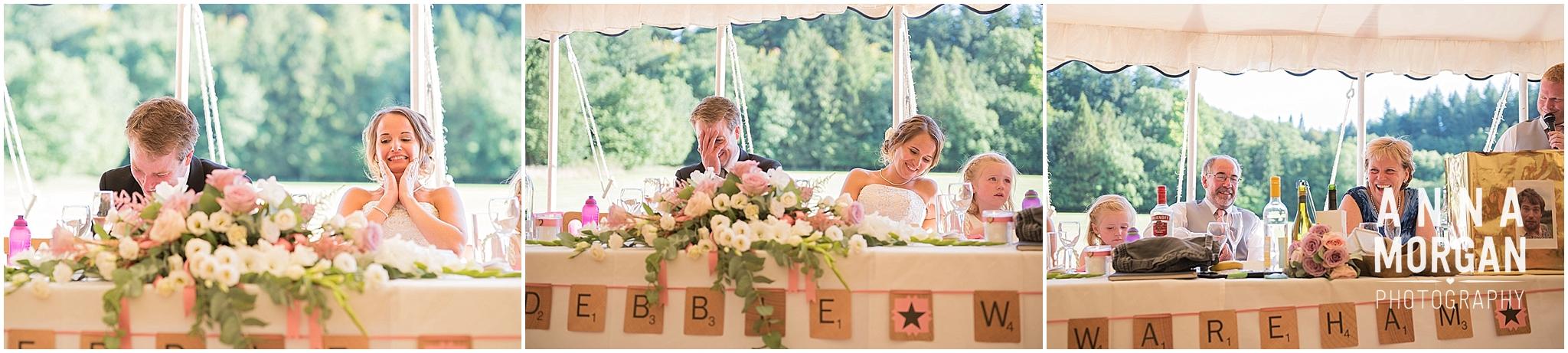 Debbie & George Affpuddle marque wedding-110