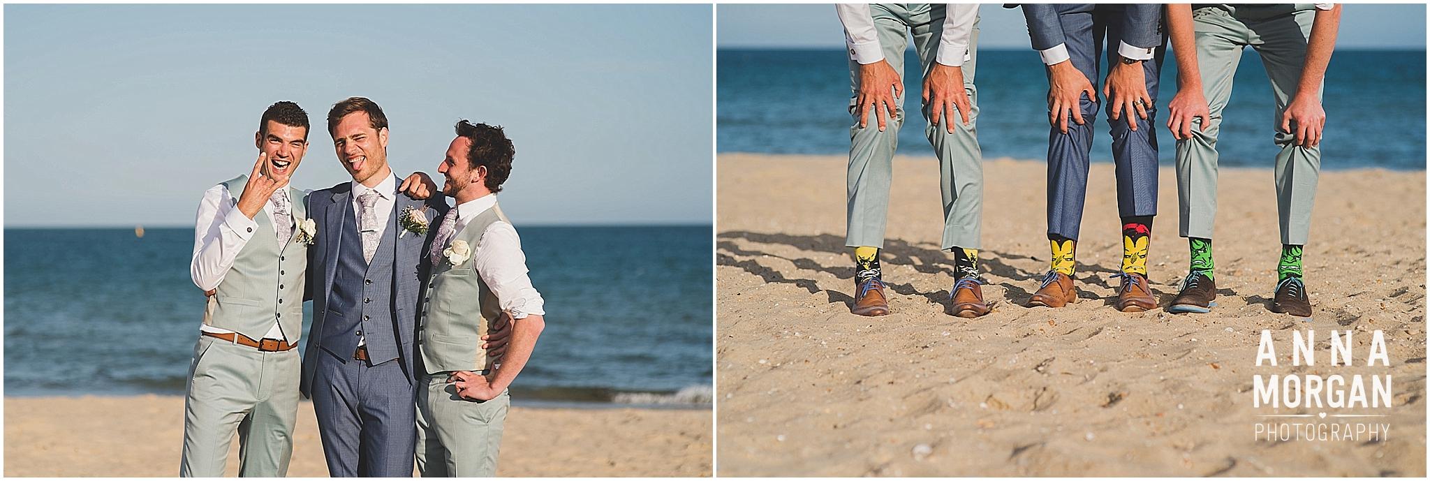 Beach Wedding Bournemouth Wedding Photographer Jess & Louis -100
