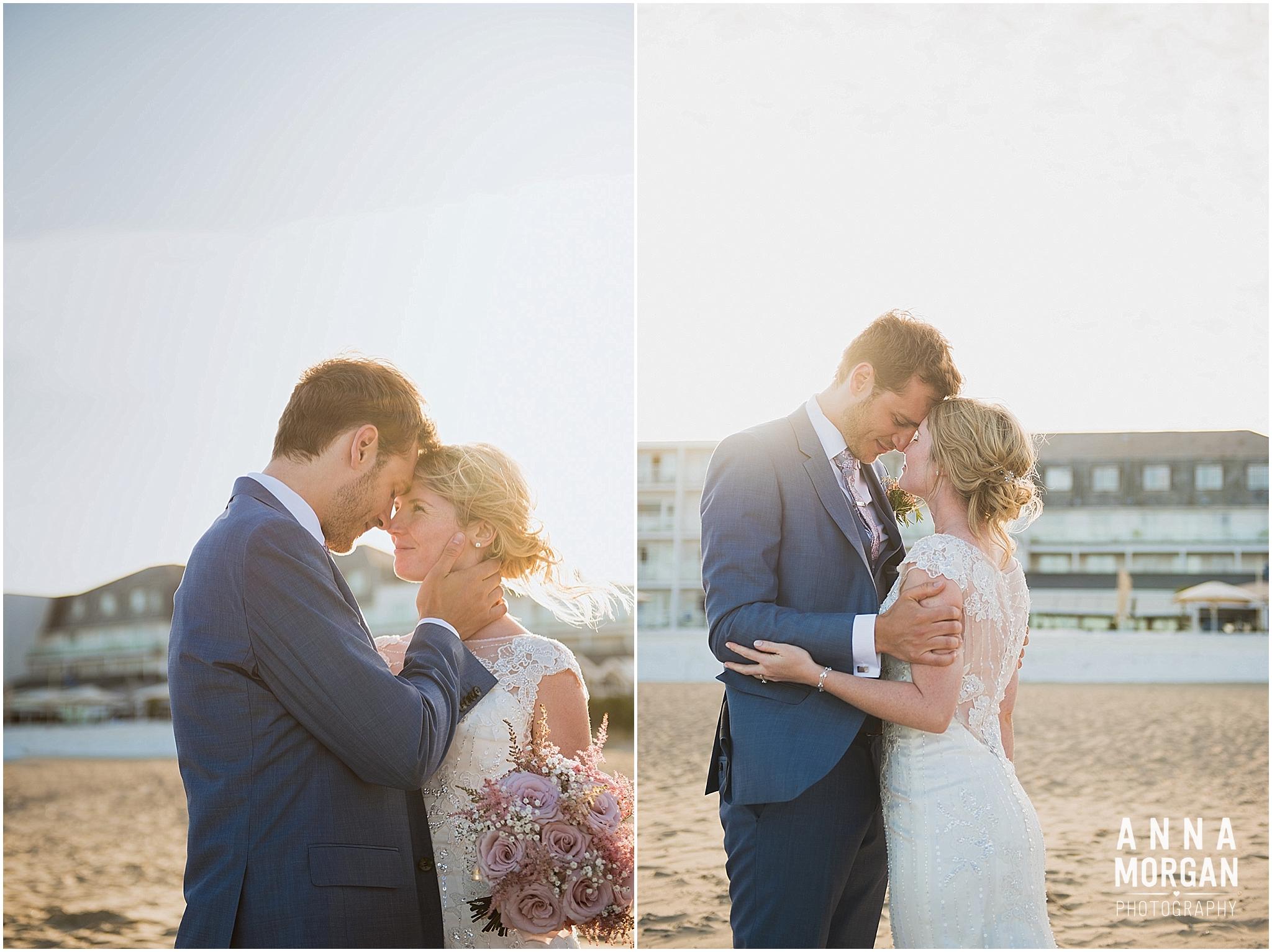 Beach Wedding Bournemouth Wedding Photographer Jess & Louis -109