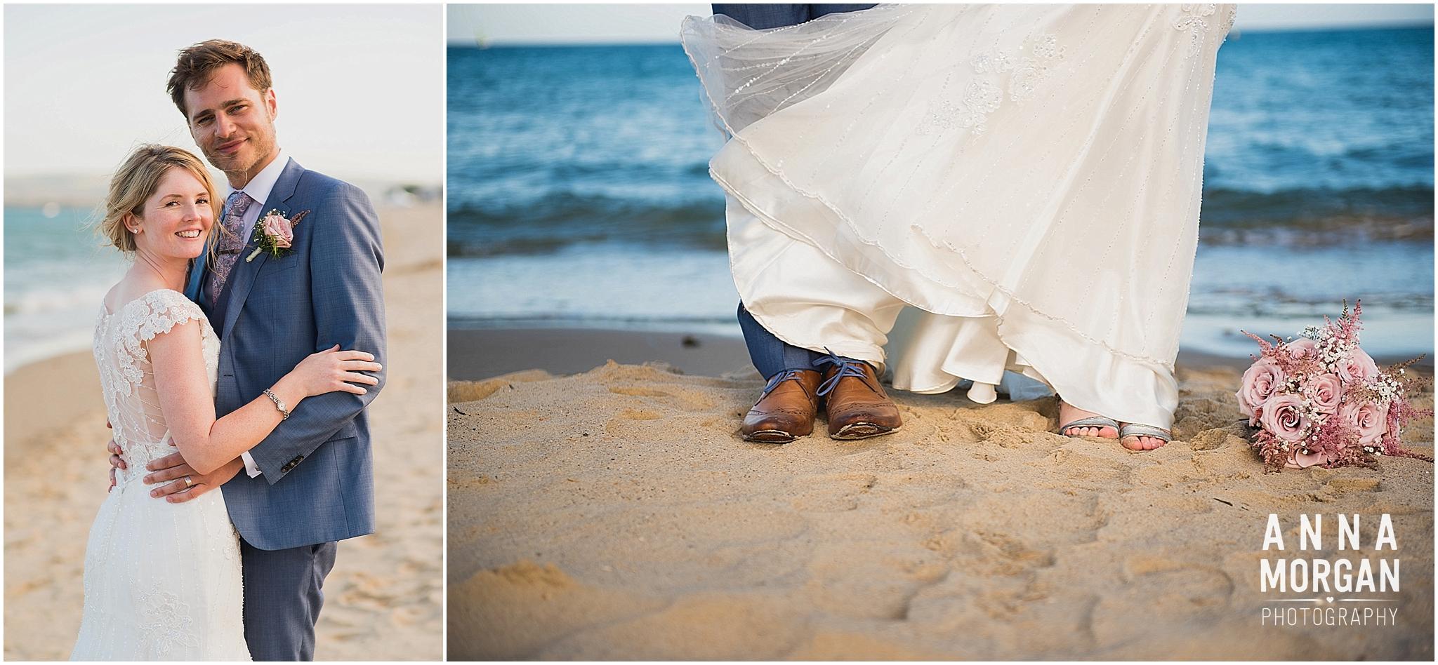 Beach Wedding Bournemouth Wedding Photographer Jess & Louis -113