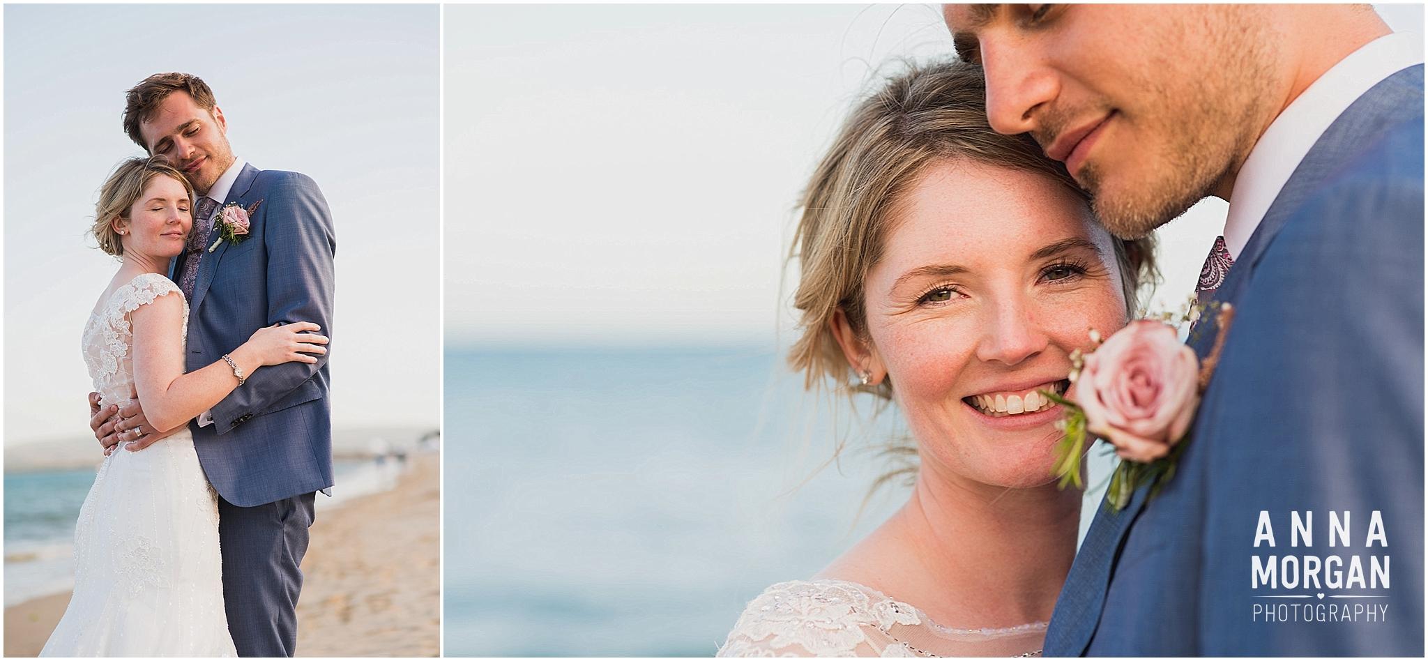 Beach Wedding Bournemouth Wedding Photographer Jess & Louis -114
