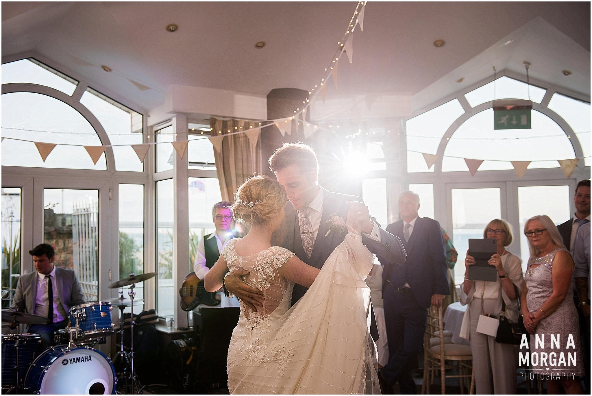Beach Wedding Bournemouth Wedding Photographer Jess & Louis -119