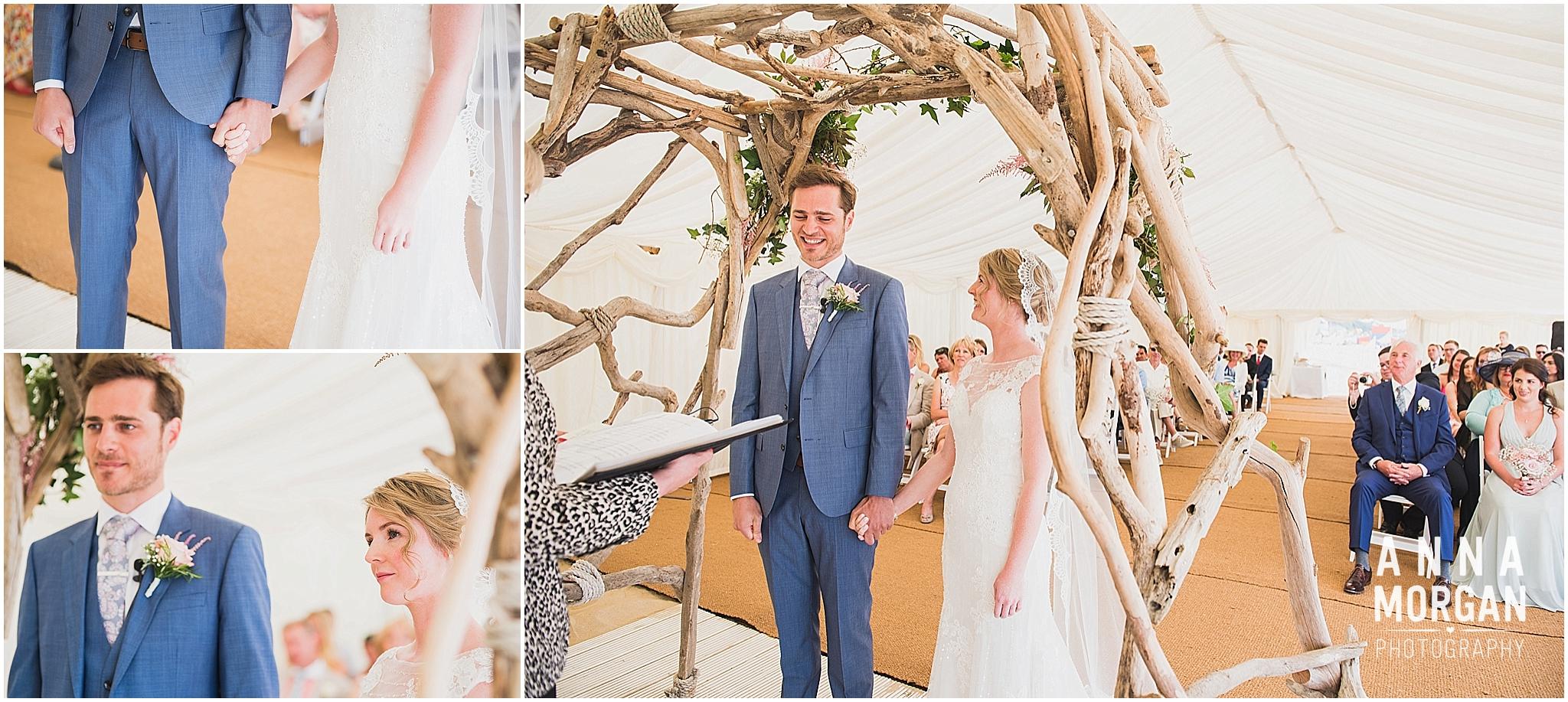 Beach Wedding Bournemouth Wedding Photographer Jess & Louis -37