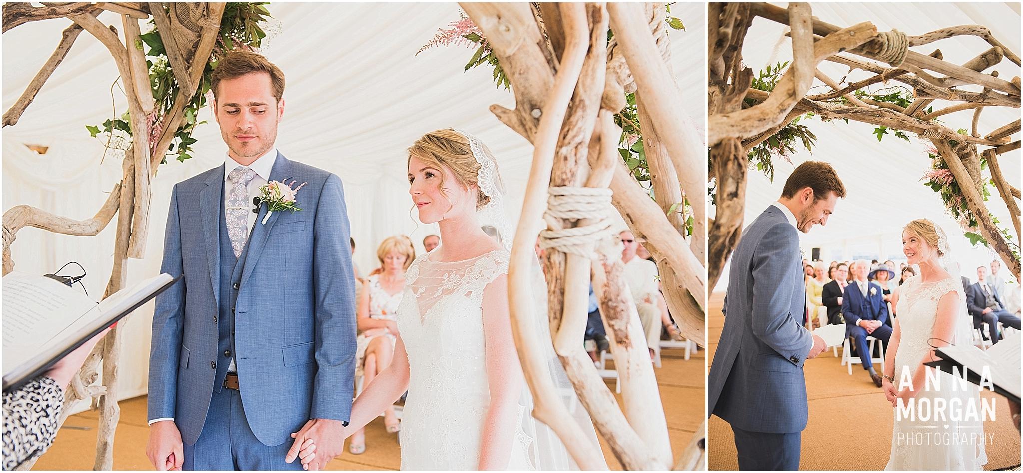 Beach Wedding Bournemouth Wedding Photographer Jess & Louis -38