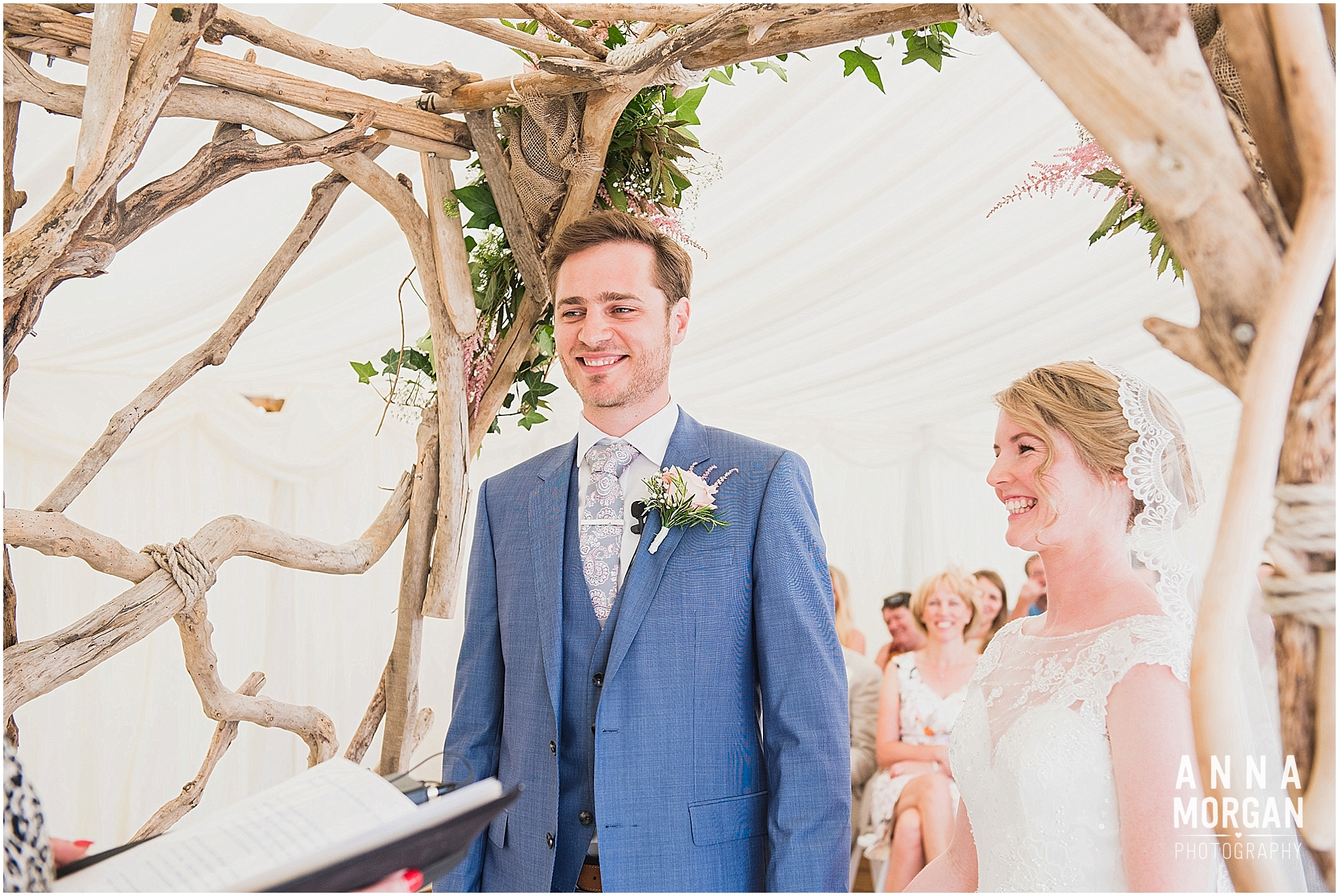 Beach Wedding Bournemouth Wedding Photographer Jess & Louis -39