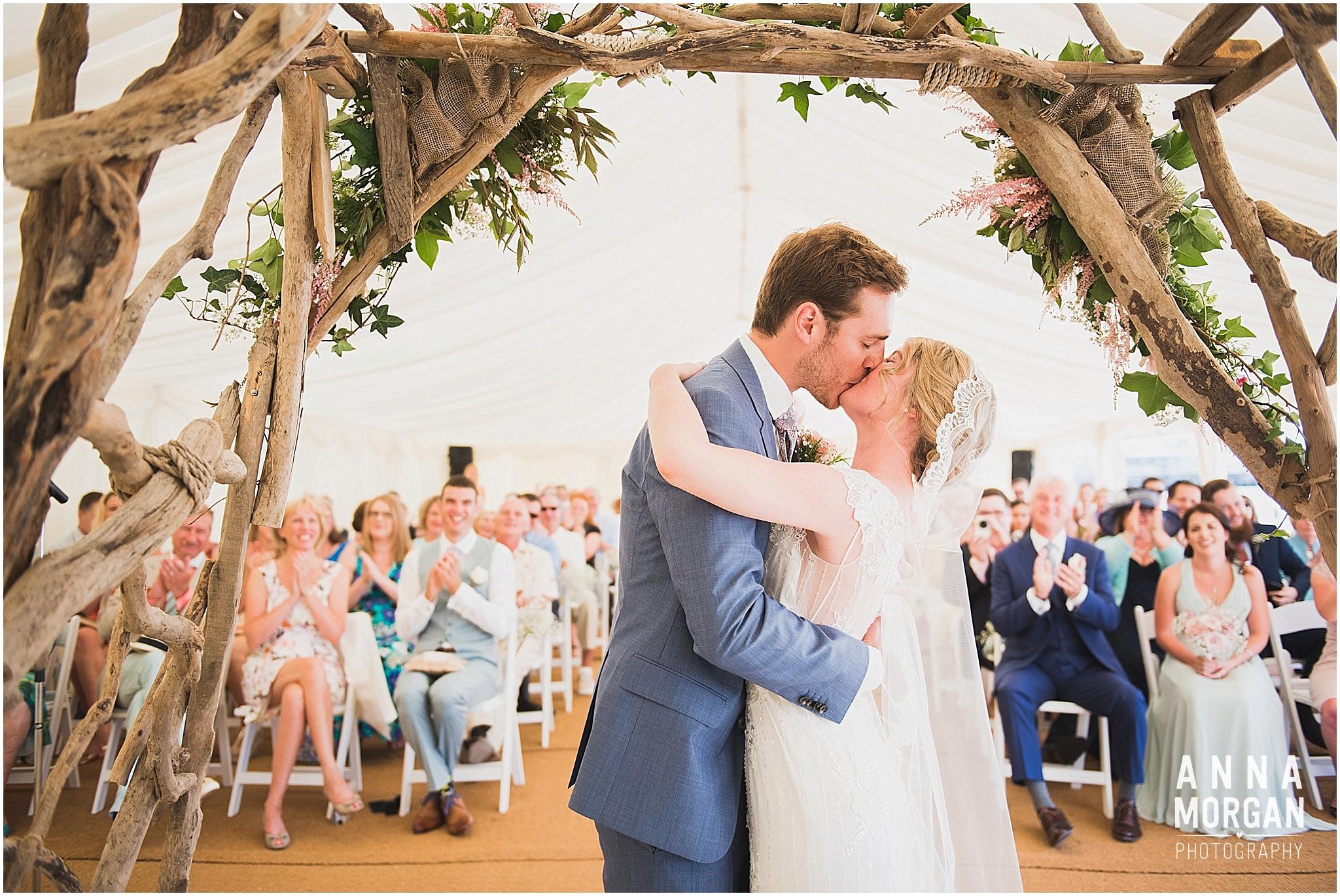 Beach Wedding Bournemouth Wedding Photographer Jess & Louis -51