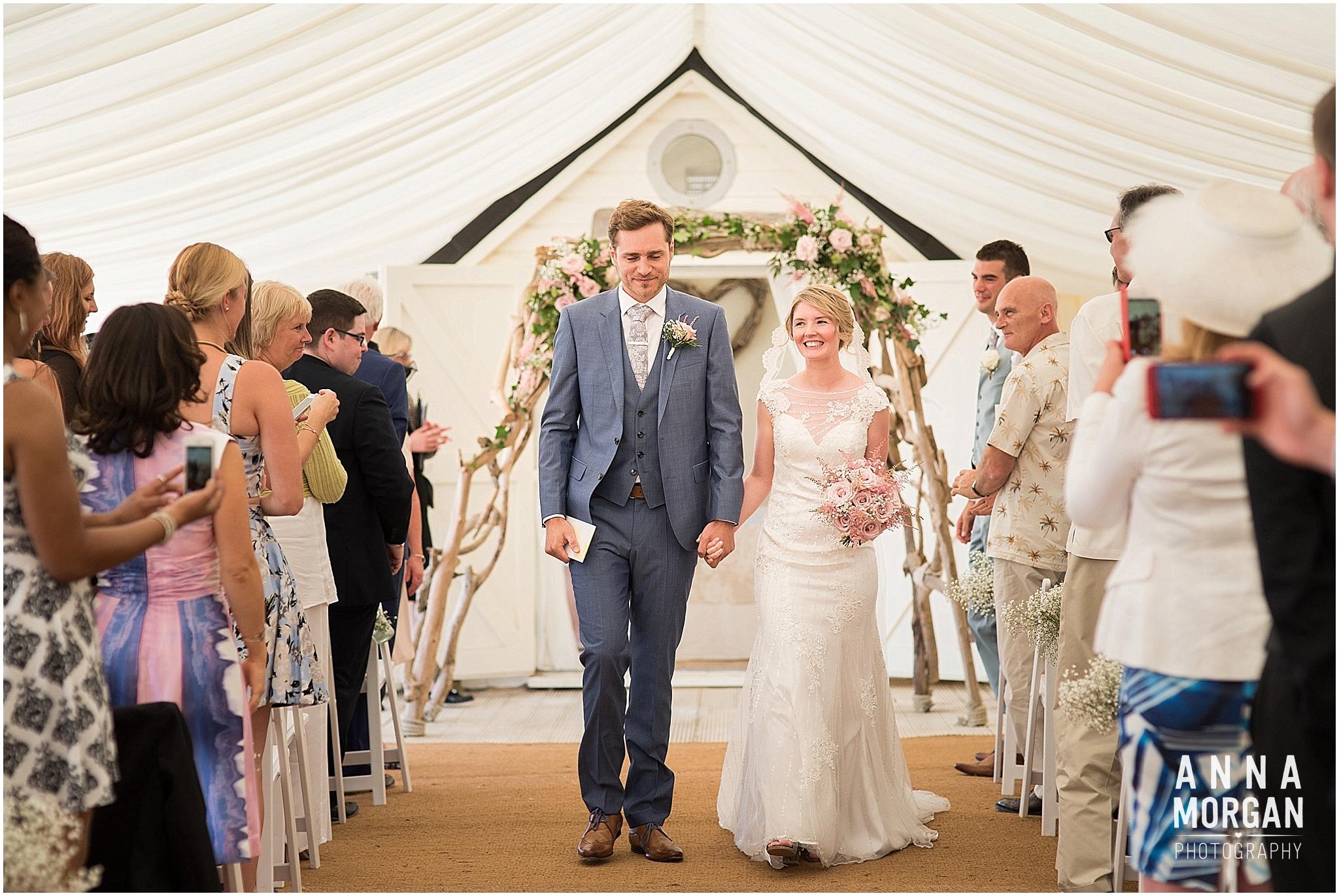 Beach Wedding Bournemouth Wedding Photographer Jess & Louis -54