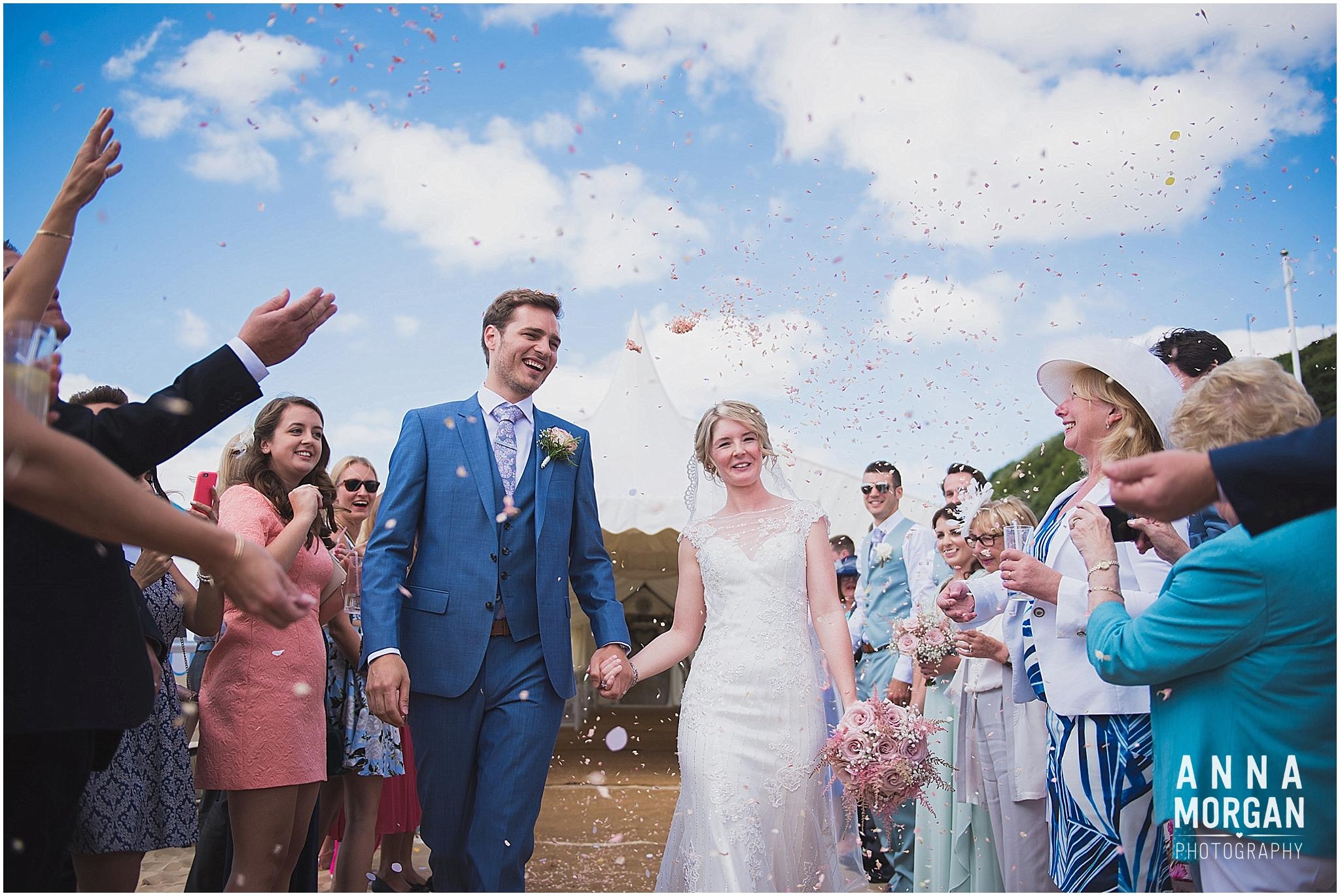 Beach Wedding Bournemouth Wedding Photographer Jess & Louis -60